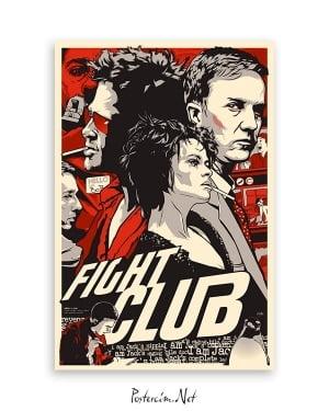 dövüş kulubü film posteri satın al