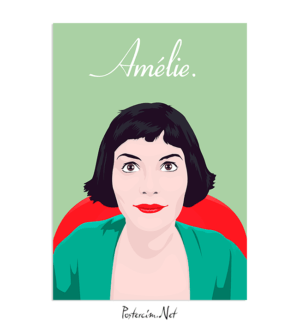 Amelie Art Poster