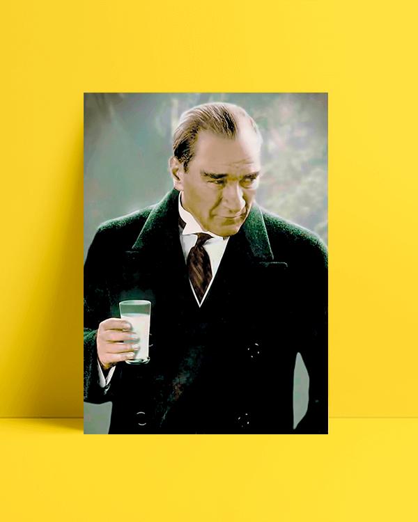 Atatürk Rakı Afiş