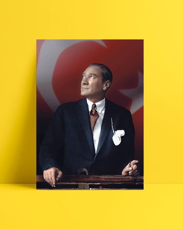 Atatürk Tesbih Afiş