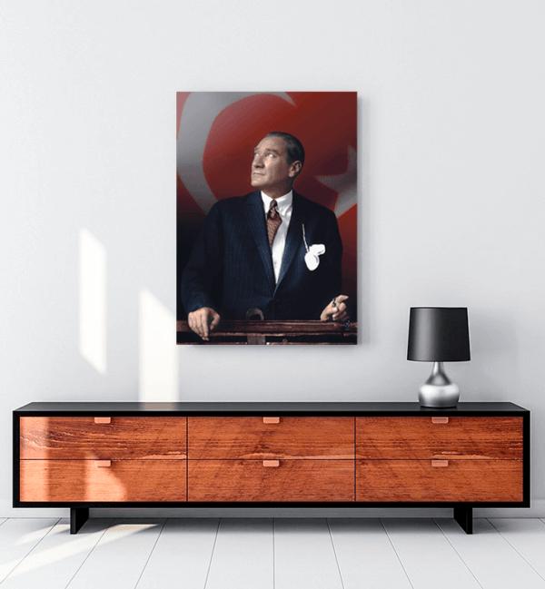 Atatürk Tesbih tablo