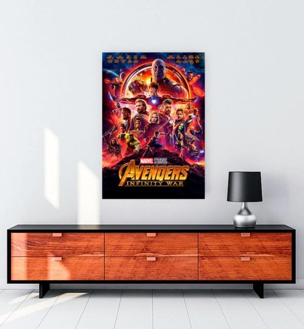 avenger infinity war film kanvas tablo satın al