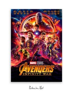 avenger infinity war film poster satın al