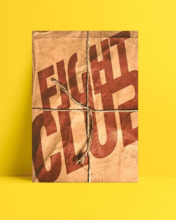 Fight Clup Box Afiş