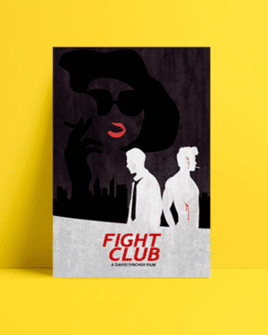 Fight Club Dark Afiş