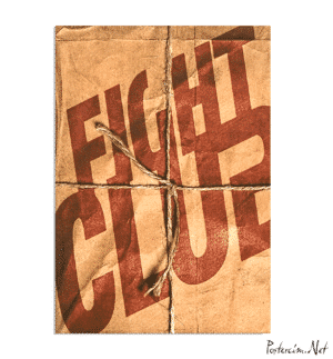 Fight Clup Box Poster