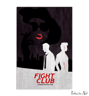 Fight Club Dark Poster