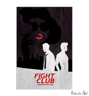 Fight Club Dark Poster