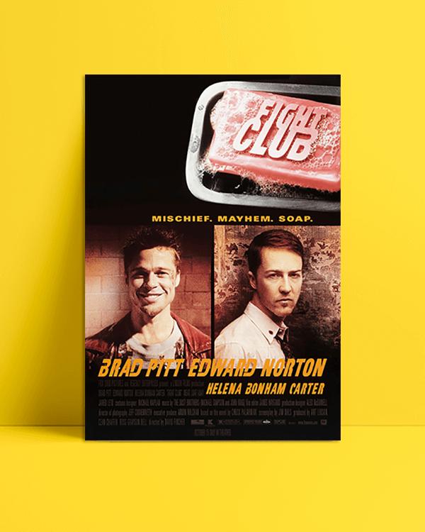 Fight Club Orijinal Film Afişi