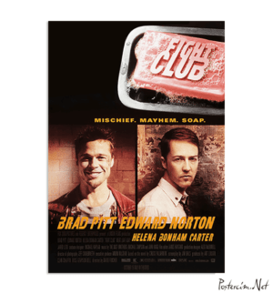Fight Club Orijinal Film Posteri