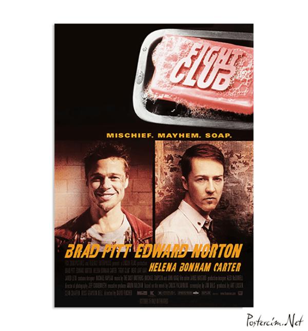 Fight Club Orijinal Film Posteri