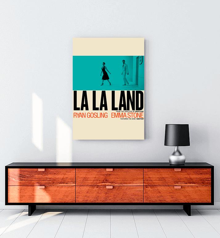La La Land Sepya tablo