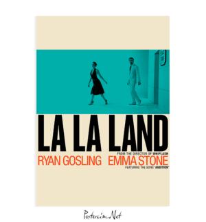 La La Land Sepya poster