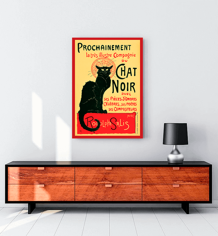 Le Chat Noir tablo