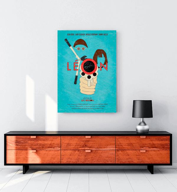 leon-art-film-kanvas-tablo