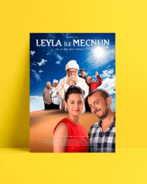 Leyla İle Mecnun 2 afiş