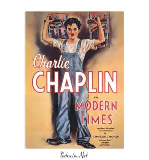 modern times film posteri