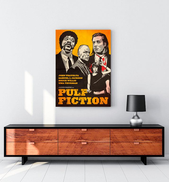 Pulp Fiction Art Tablo
