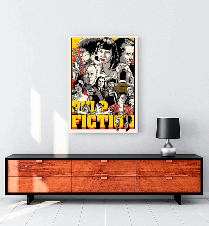 pulp fiction Draw tablo