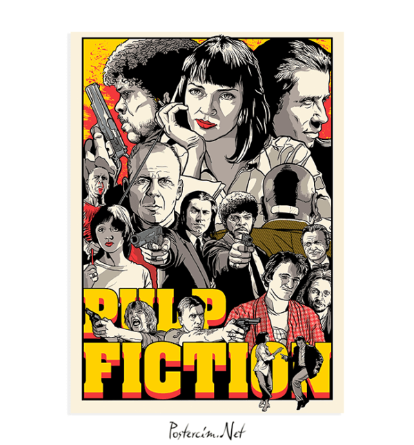pulp-fiction-draw-posteri-satin-al