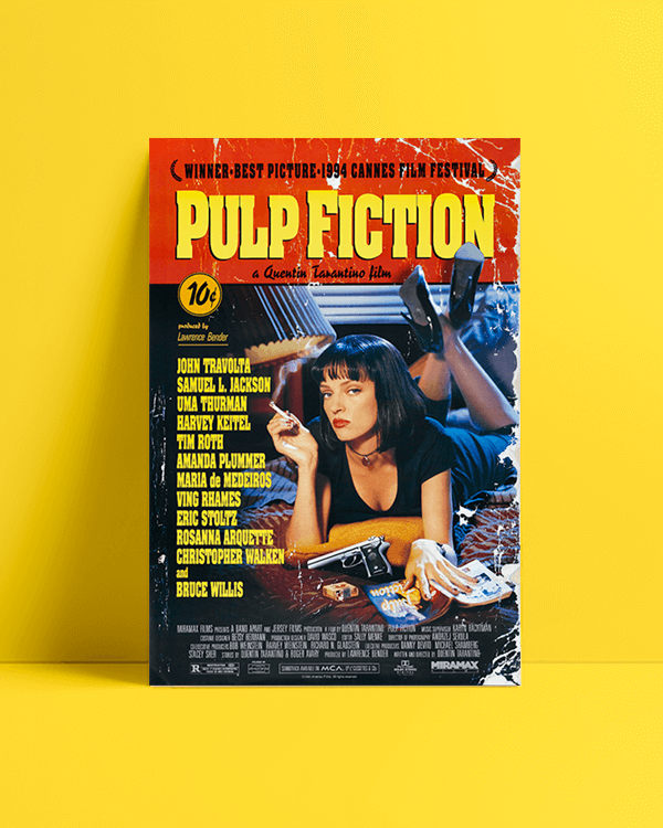 Pulp Fiction Afiş