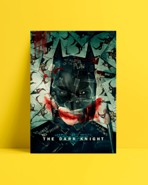 batman dark knight afiş