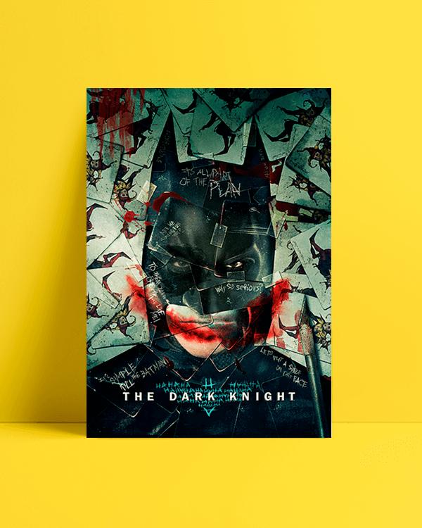 batman dark knight afiş