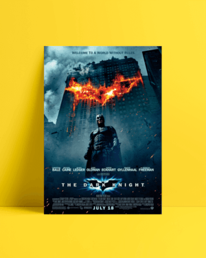 The Dark Knight Orijinal afiş