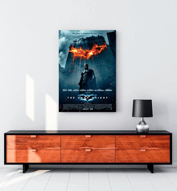 The Dark Knight Orijinal Tablo