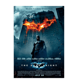 The Dark Knight Orijinal poster
