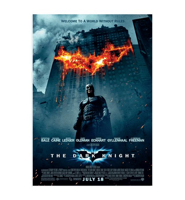 The Dark Knight Orijinal poster