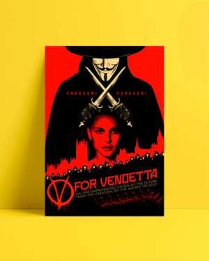 V For Vendetta Afiş