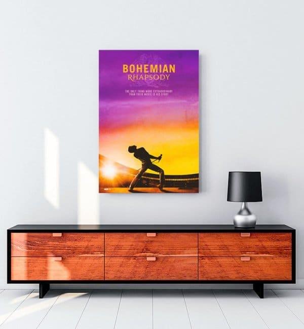 bohemian-rhapsody-2-film-kanvas-tablosu
