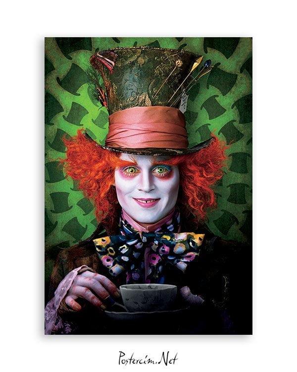 Alice in Wonderland film posteri satın al