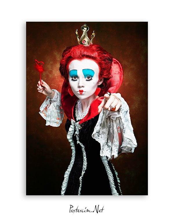 Queen of Hearts posteri satın al