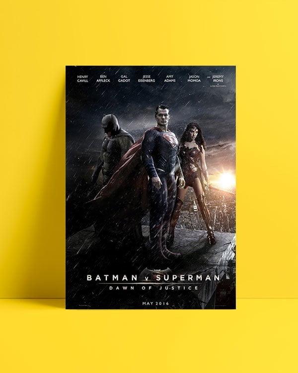Batman v Superman: Dawn of Justice afiş satın al