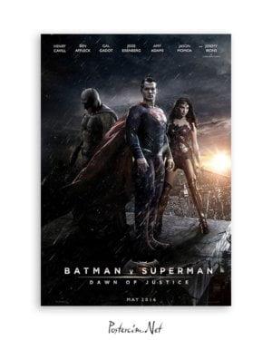 Batman v Superman: Dawn of Justice poster satın al