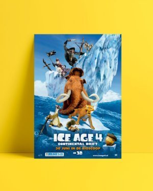 Ice Age 4 Film Afişi Satın Al