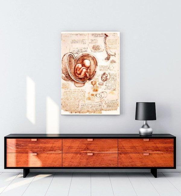 fetus-kanvas-tablo