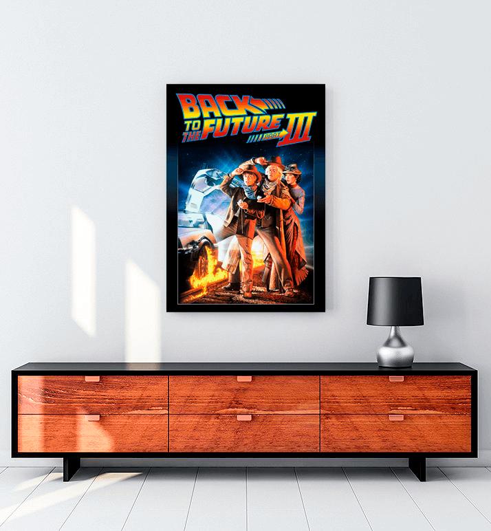 Back to the Future (1985) film kanvas tablo satın al