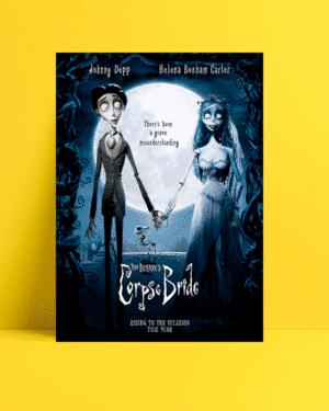Corpse Bride Film Afişi Satın Al