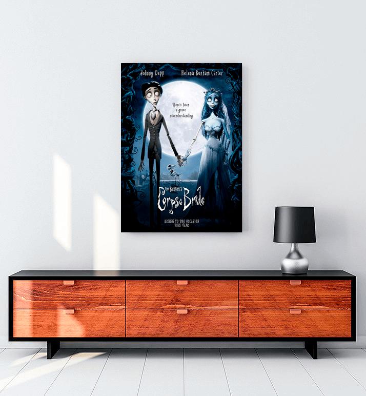 Corpse Bride film kanvas tablo