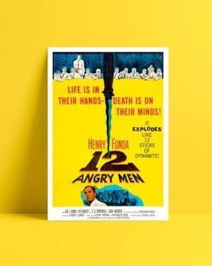 12 Angry Men film afisi satın al