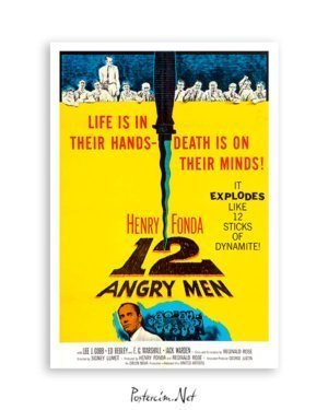 12 Angry Men film posteri satın al