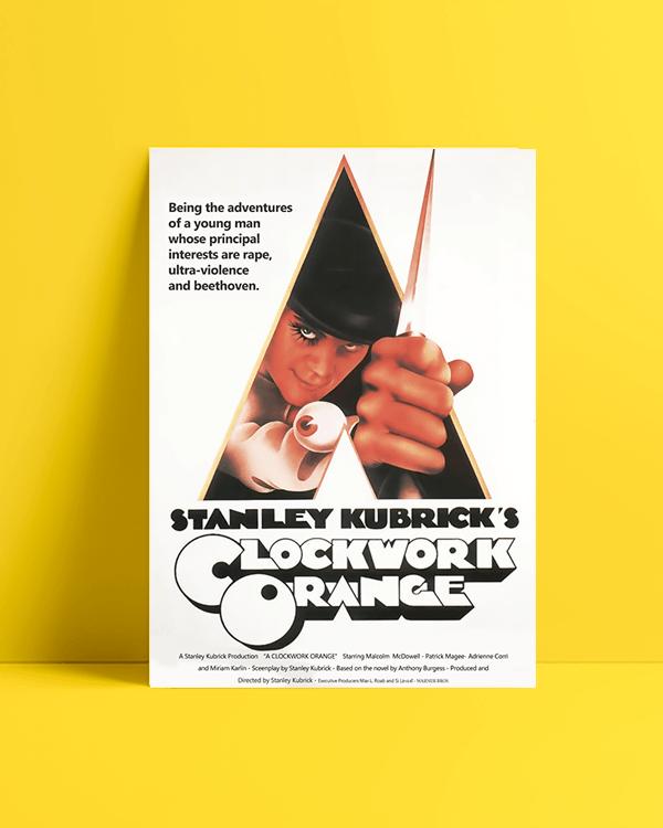A Clockwork Orange Film afisi Satın Al