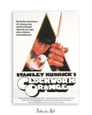 A Clockwork Orange Film Posteri Satın Al