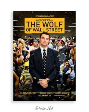the wolf of wall street posteri satın al