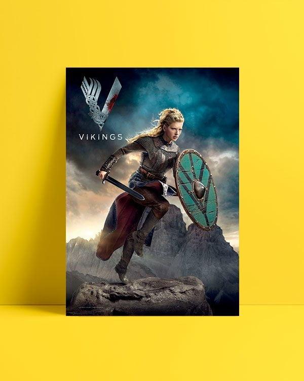 Vikings Lagertha afisi