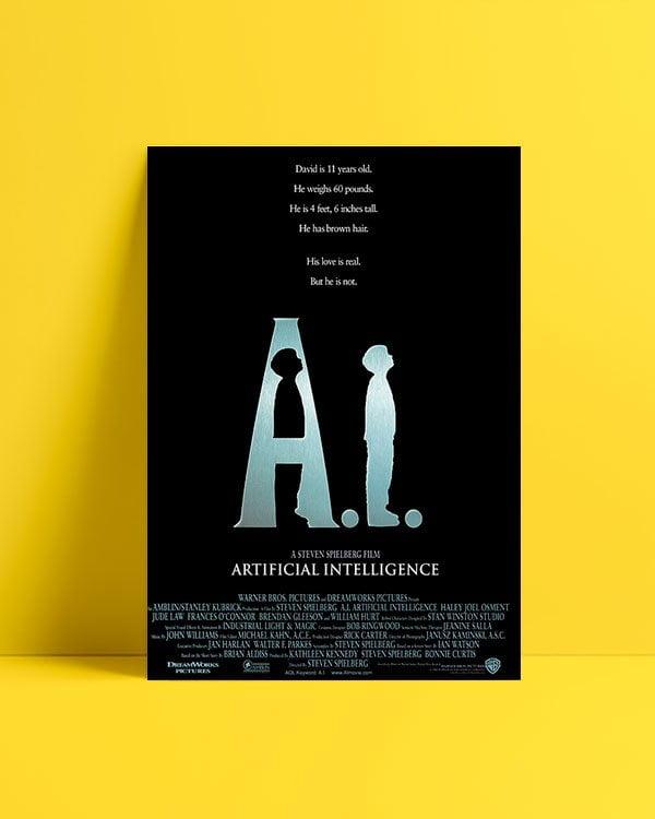Artificial Intelligence: AI film afişi satış