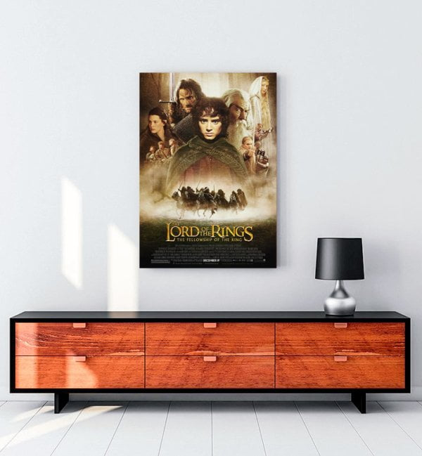 The Lord of the Rings: The Fellowship of the Ring Kanvas Tablo